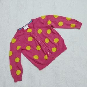 Hanna Andersson polka dot sweater size 100/ 4T